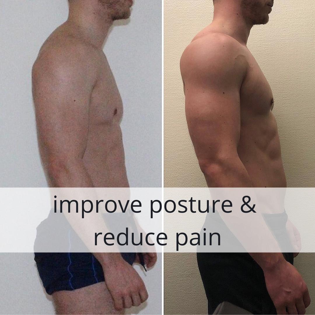 improve posture & reduce pain